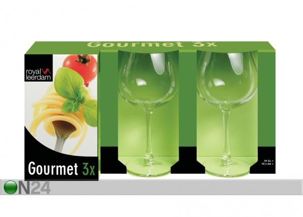Viini-/vesilasi GOURMET 44 cm