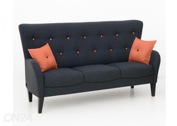 Sohva Malibu 3-ist +2 tyynyä
