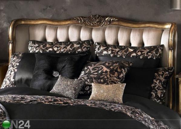KYLIE MINOGUE tyynyliina LAZZARO BLACK 65x65 cm