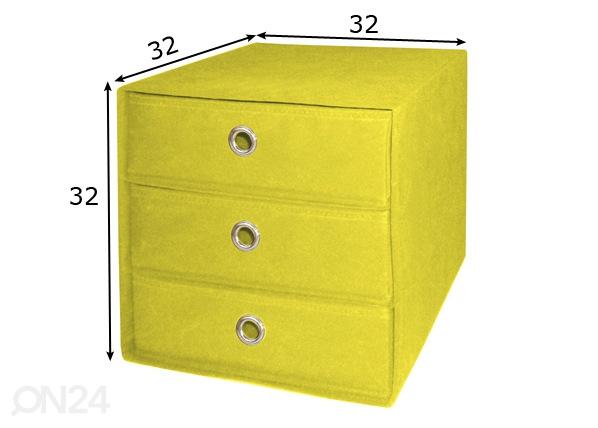 Laatikko ALFA 3, laatikoilla
