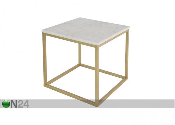 Marmorinen sohvapöytä ACCENT 2, 50x50 cm