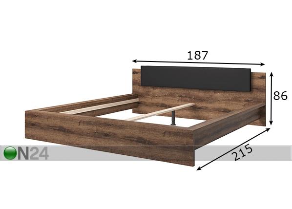 Sänky INDIRA 160x200 cm