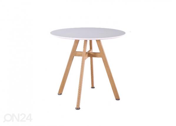 Ruokapöytä KAYTLIN Ø 80 cm