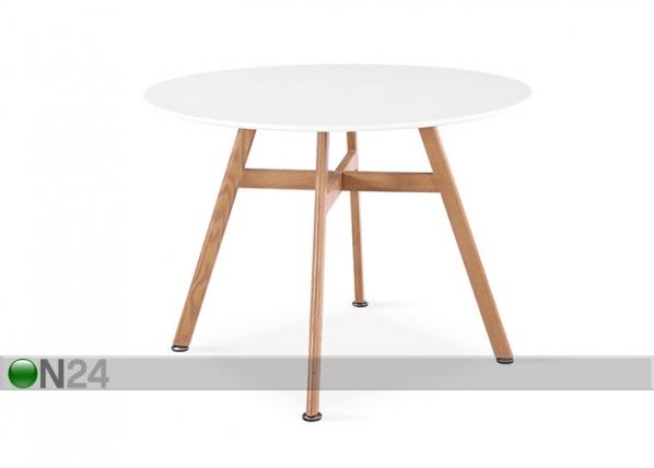 Ruokapöytä SHAWN Ø 100 cm