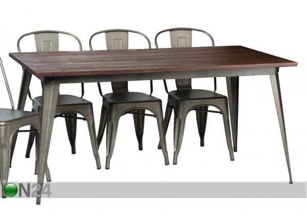 Ruokapöytä 160x80 cm