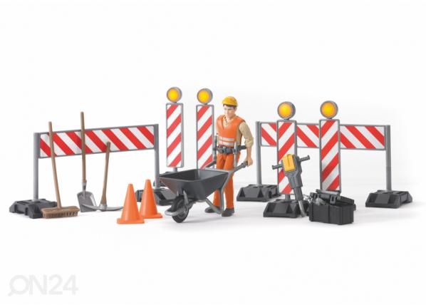 Tie-rakennuspakkaus BRUDER