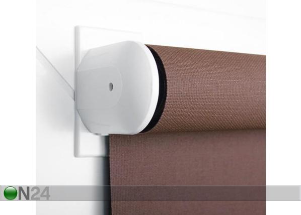 Minirullaverhon kiinnitys avaamattomalle ikkunnalle, 2 kpl
