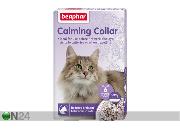 Rauhoittava kaulapanta kissoille NO STRESS BEAPHAR