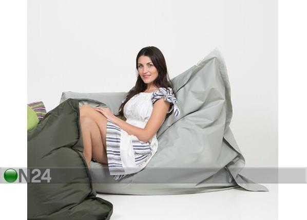 ETNO säkkituoli PVC 140x180 cm, vaaleanharmaa