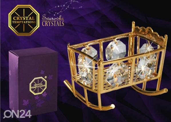 Koriste-esine Swarovski kristalleilla KEHTO