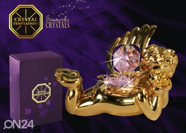 Koriste-esine Swarovski kristalleilla ENKELI