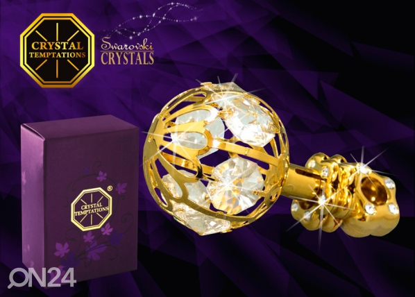 Koriste-esine Swarovski kristalleilla HELISTIN