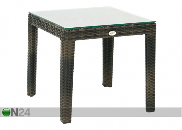 Apupöytä WICKER 50x50 cm
