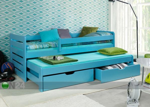 Lasten sänkysarja 2-osainen, 80x180 cm