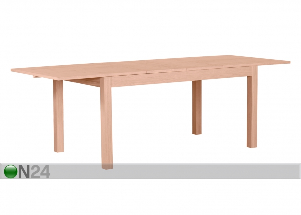 Jatkettava ruokapöytä NANO 160-240x90 cm