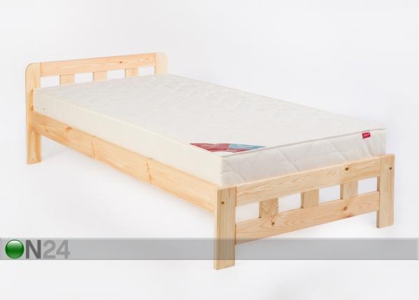 Sänky KRISTINA, mänty 90x200 cm