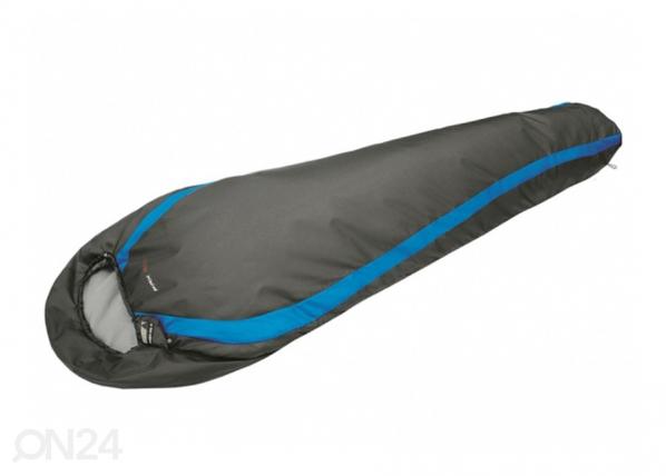 Makuupussi HIGH PEAK PAK 600 tummanharmaa/sininen