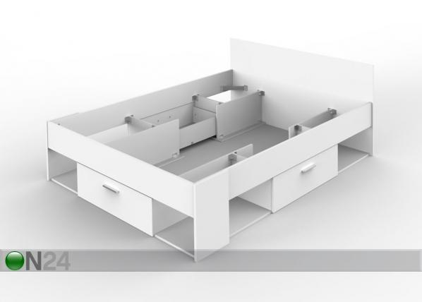 Jatkettava sänky 140x190/200 cm
