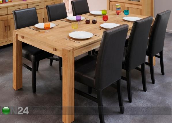 Ruokapöytä ETHAN 180×90 cm