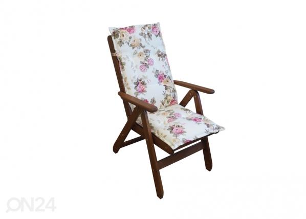 Puutarhatuolin tyyny 117x49 cm