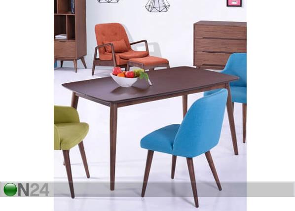 Ruokapöytä BADULLA 150×90 cm