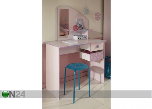 Kampauspöytä/kirjoituspöytä CRISTAL