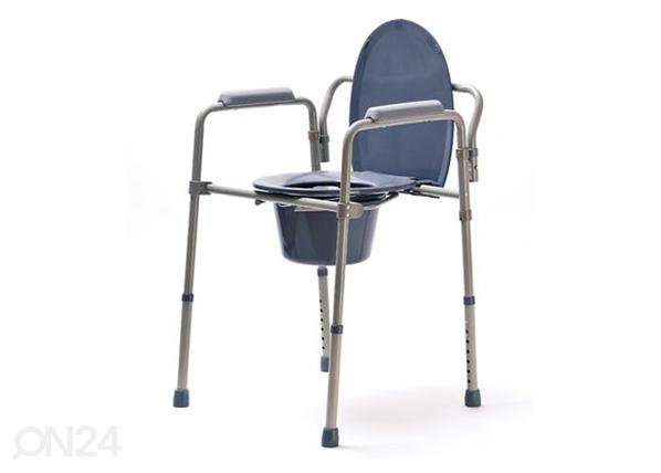 Kokoontaitettava WC-tuoli-istuin