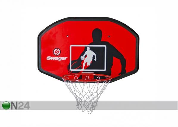 Seinään kiinnitettävä koripallo taustalevy SWAGER