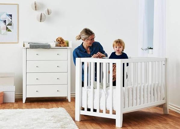 Vauvansänky/pinnasänky ANTON 60x120 cm