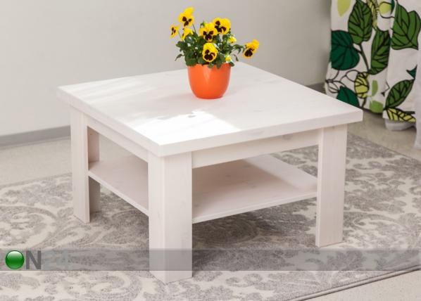 Sohvapöytä, mänty 74x74 cm