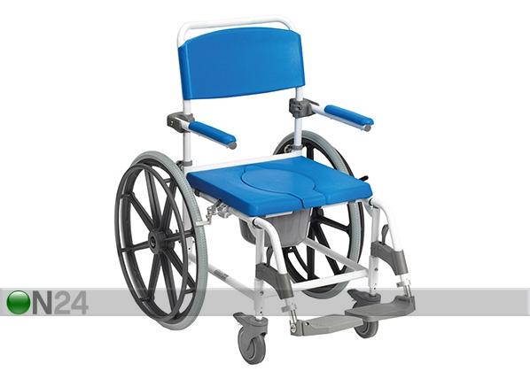 Pyörätuoli wc-istuimella ASTON