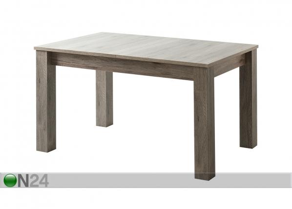 Jatkettava ruokapöytä 135-175x85 cm