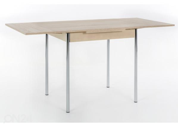 Jatkettava ruokapöytä BONN 90-142x65 cm