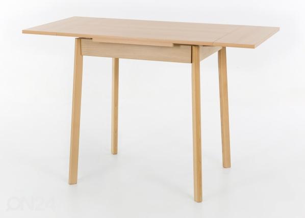 Jatkettava ruokapöytä TRIER II 75-112x55 cm