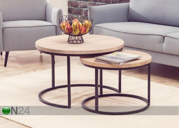 Puiset sohvapöydät MANGO, 2 kpl
