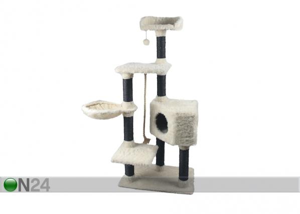 Kissan raapimispuu musta/valkoinen