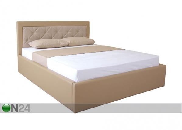 Sänky+vuodevaatelaatikko Irma 160x200 cm