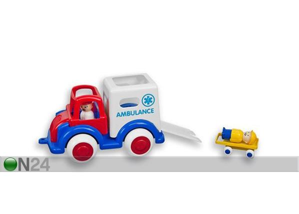 Ambulanssi ja minihahmot VIKING JUMBO
