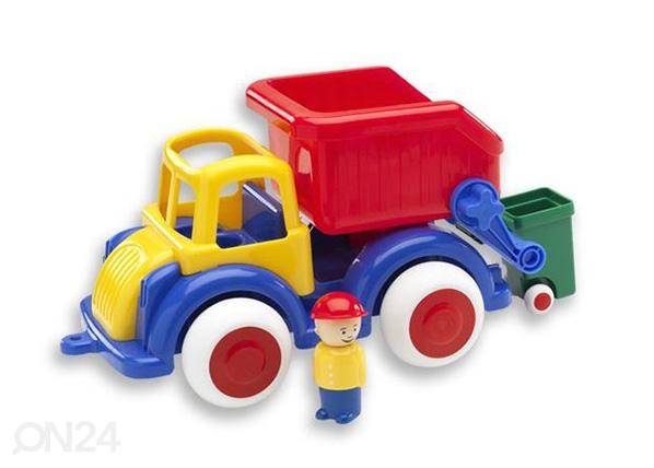 Roska-auto ja minihahmo VIKING JUMBO