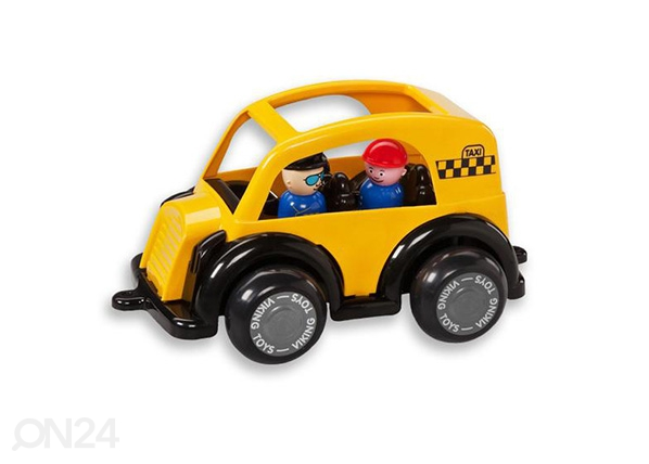 Taksiauto ja minihahmo VIKING JUMBO