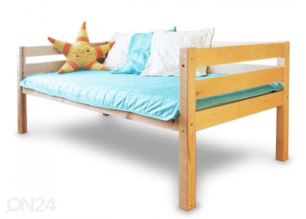 Sänky 90x200 cm, koivu