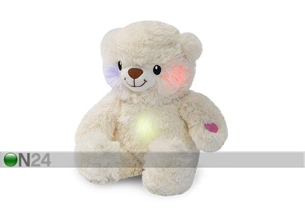 Karhu pehmolelu äänellä ja valolla