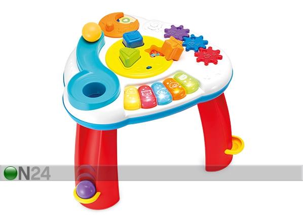 Leikkipöytä äänillä ja valoilla