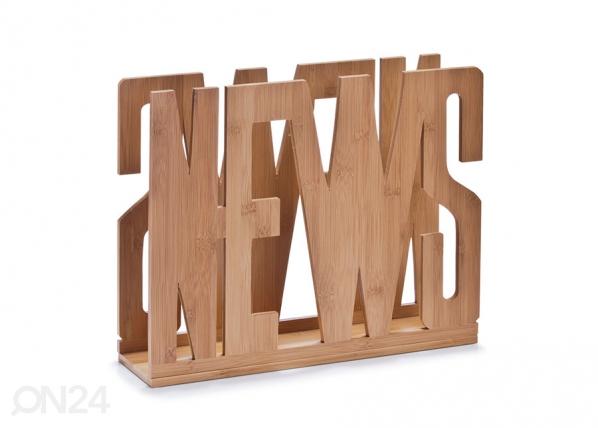 Lehtiteline seinään NEWS