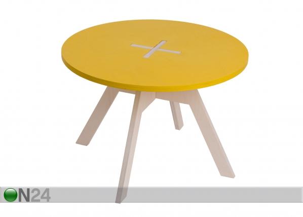 Sohvapöytä/lastenpöytä Ø 70 cm