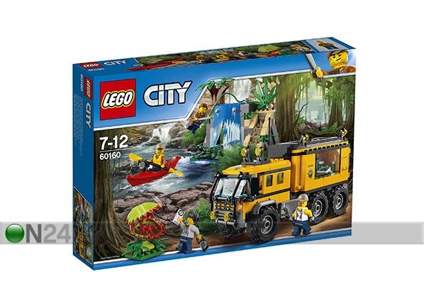 Viidakon liikkuva laboratorio LEGO CITY