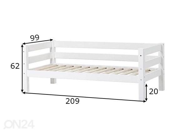 Lastensänky PREMIUM 90x200 cm