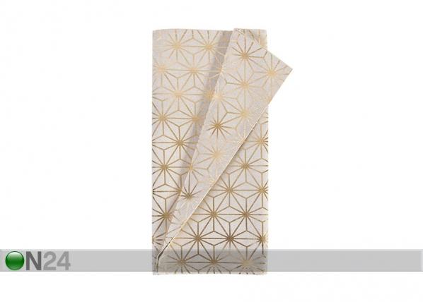 Kaitaliina HOLLY KULTAINEN TIMANTTI 43x116 cm