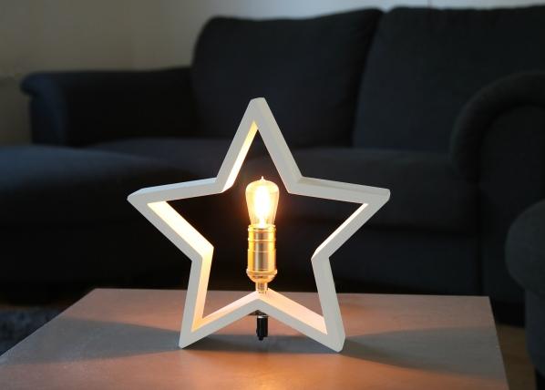 Puinen tähti 29 cm