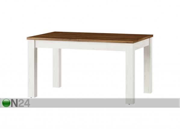 Jatkettava ruokapöytä 90x140-214 cm